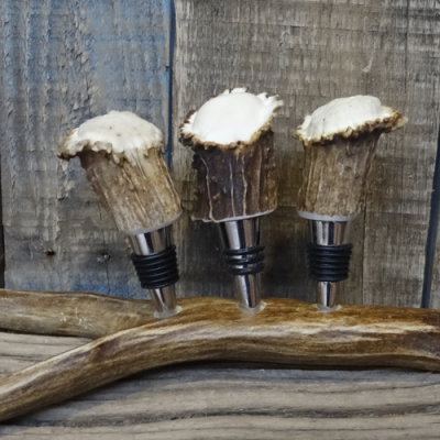 Antler Bottle stopper set