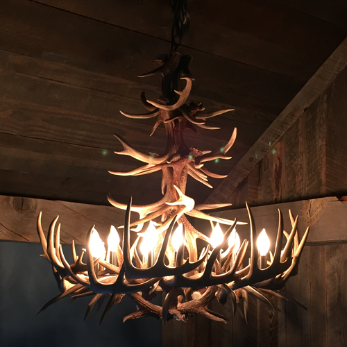 Deer Antler Chandelier