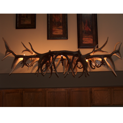 Elk Antler Bar Light