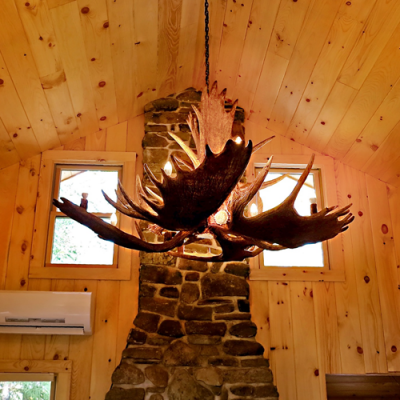 Moose Antler Chandelier - Mchugh Peak