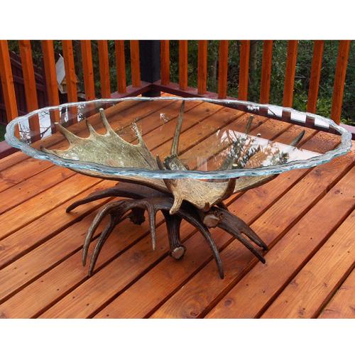 Moose Antler Coffee Table Kenai