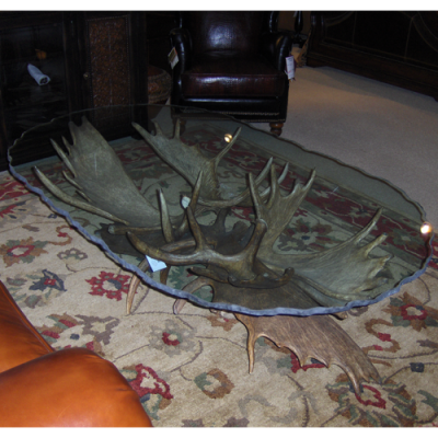 Moose Antler Coffee table - Sir Kodiak