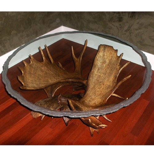 Moose Antler Coffee Table