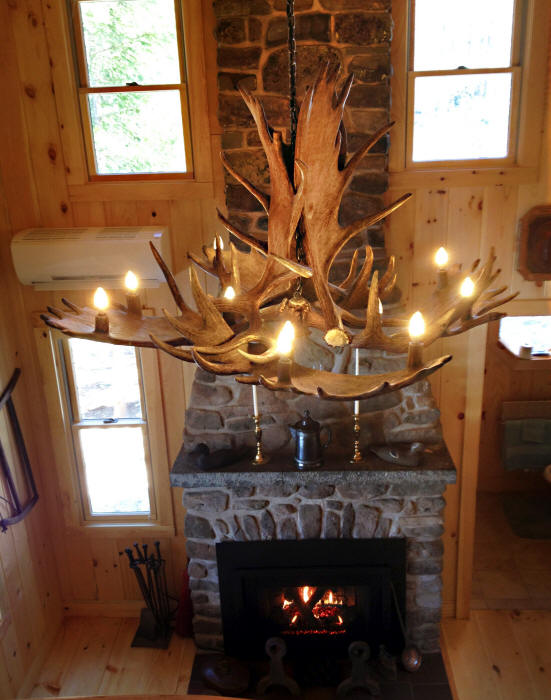 Large Moose Antler Chandelier Quot Mchugh Peak Quot Montana