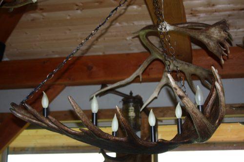 moose antler light snowhawk