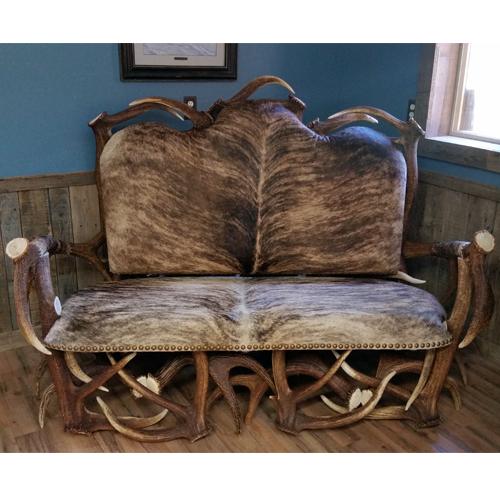 Trophy antler sofa