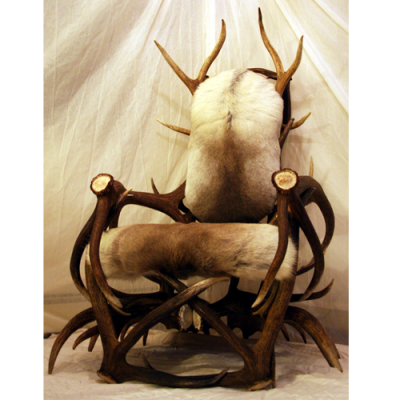 Bone Throne antler chair