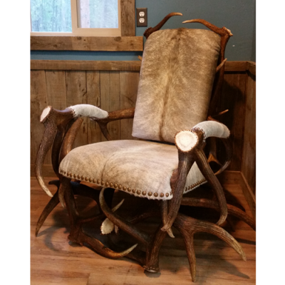 Trophy antler chair