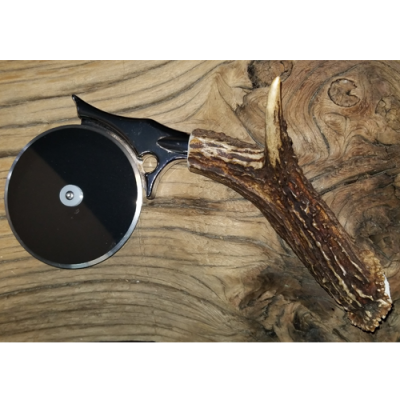 Large Antler Pizza Cutter