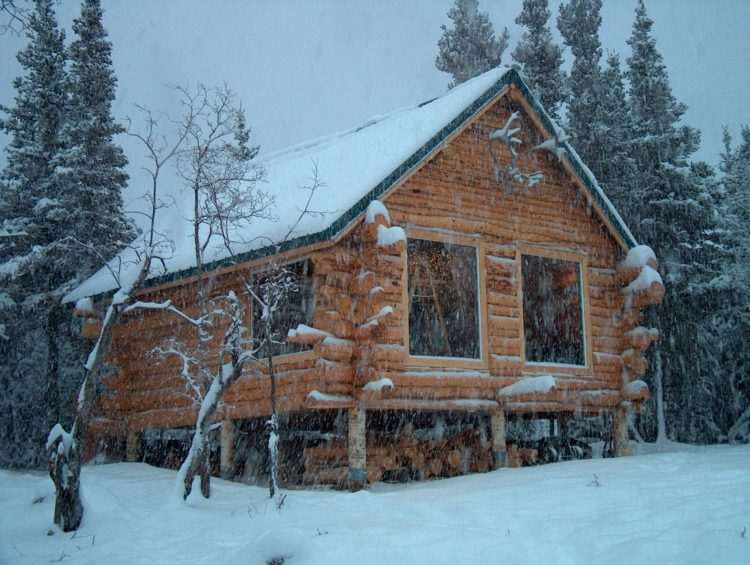 building a log cabin in alaska montana antler works